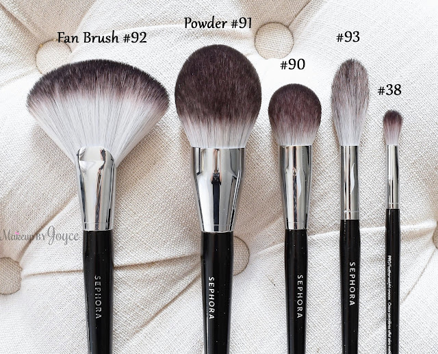 Sephora Collection Pro Featherweight Brush Review Fan Powder Complexion Blending Crease