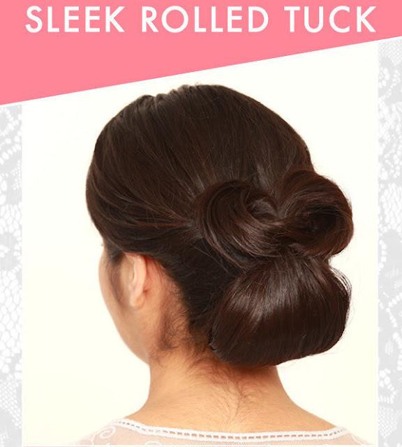 Sleek Rolled Tuck