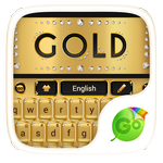 gold go keyboard theme Full APK