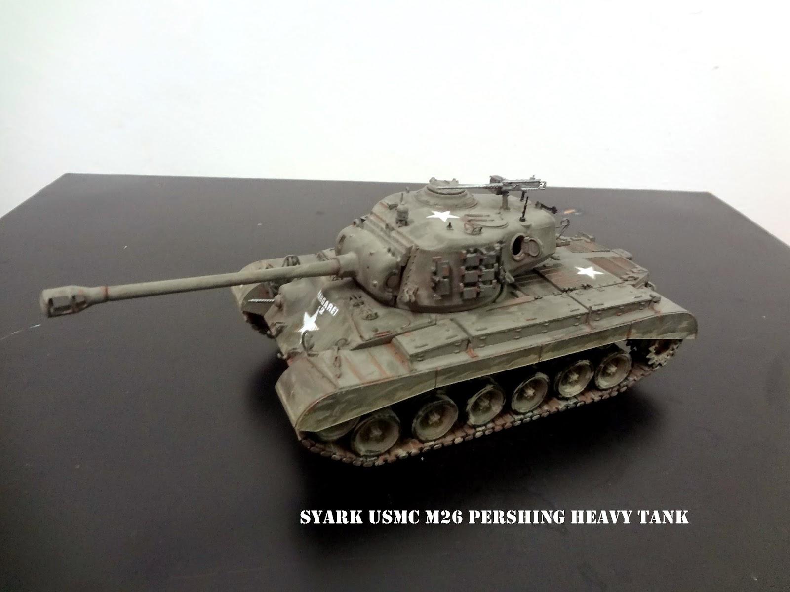 Syark Defence Forces  Sdf   35 Hobbyboss Usmc M26 Pershing Heavy Tank