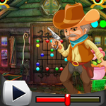G4K Cute Cowboy Escape Ga…
