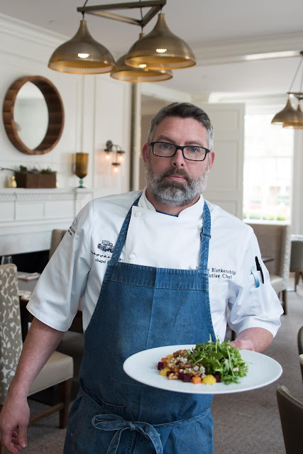 Carolina Inn Chef Jeremy Blankenship