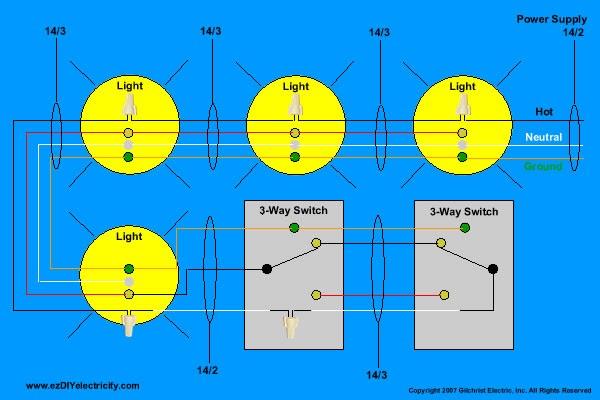 Wire 4 Way Switch Diagram