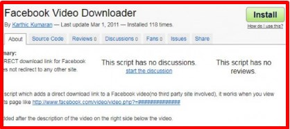 facebook video downloader pc