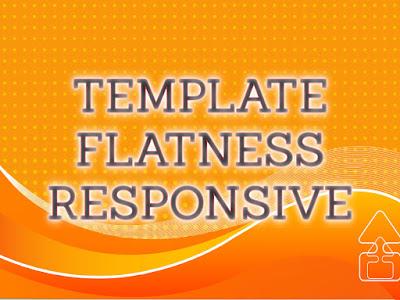Template Terbaru 2017 Flatness Blog Template Download Gratis