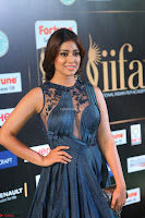 Shriya Saran in Beautiful Transparent Dark Gown IIFA Utsavam Awards 2017 010.JPG