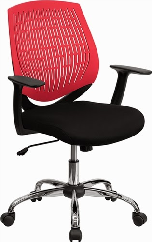Flash Furniture Adjustable Swivel Chair