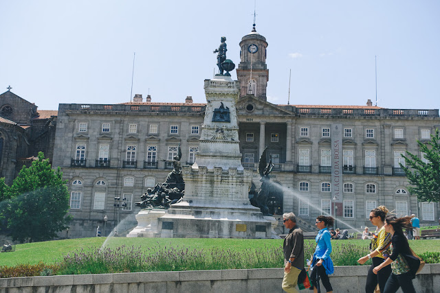 エンリケ航海王子広場(Praca Infante Dom Henrique