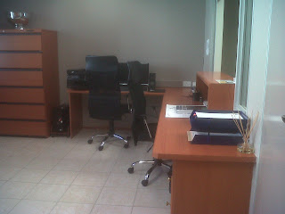 the office, office desk