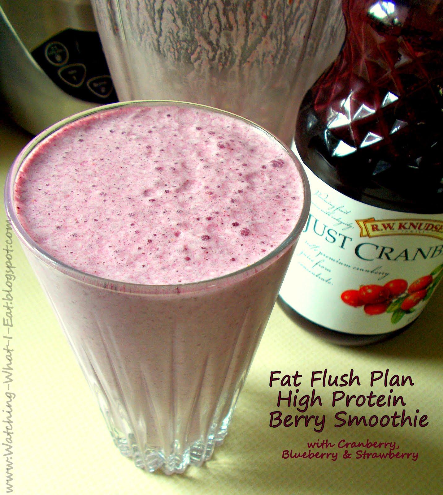 cranberry fat flush diet plan