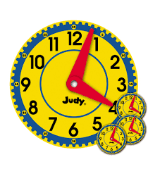 Judy clock for asking What Time Is IT?