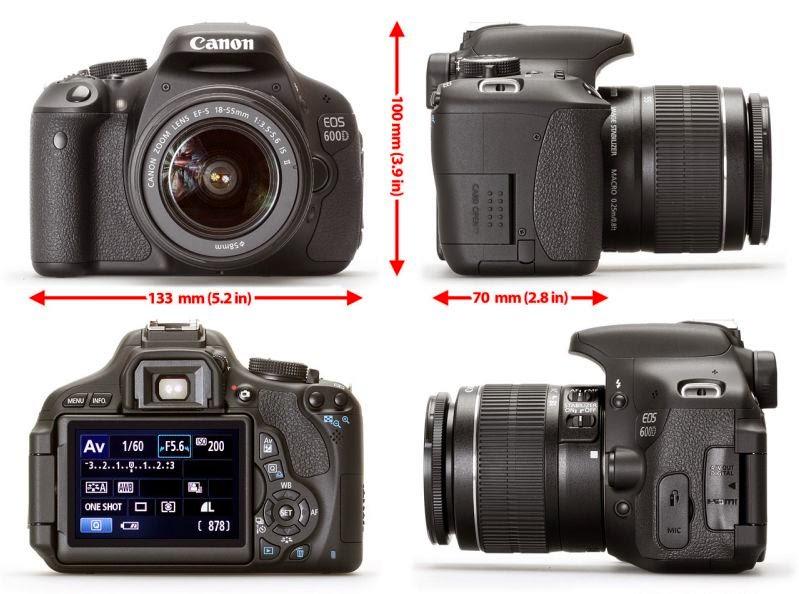 Review Canon EOS 600D Kit 1
