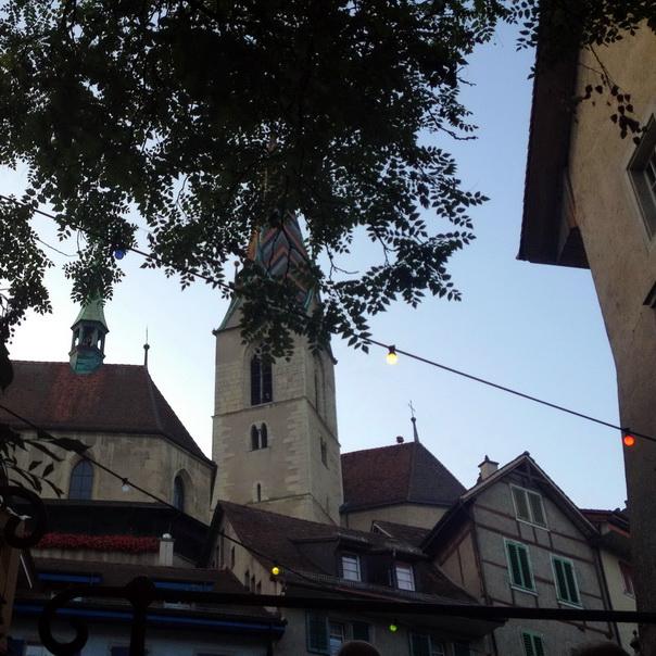 Badenfahrt Baden Stadt Altstadt Kirche