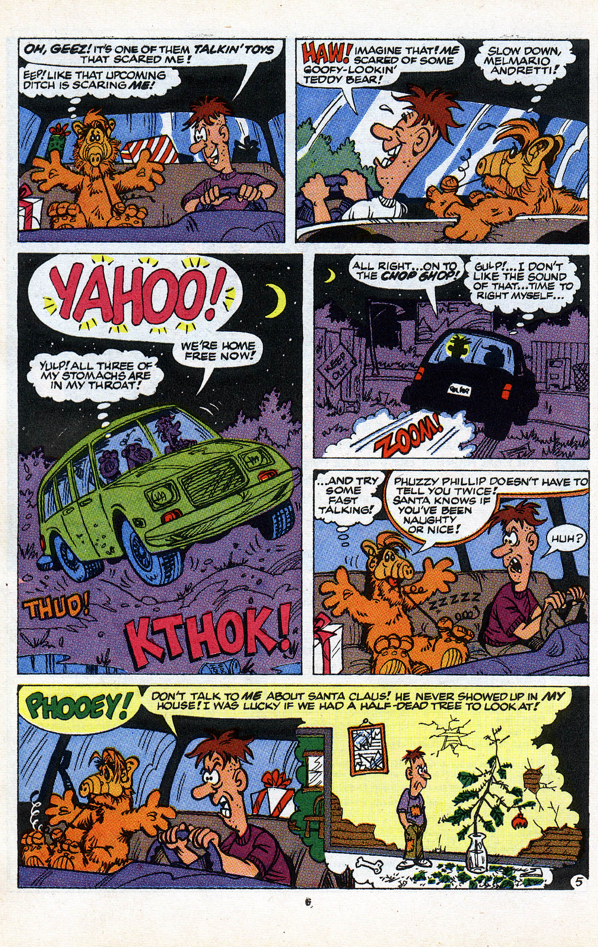 Read online ALF comic -  Issue #2 - 8