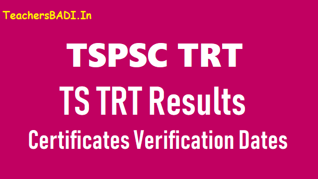tspsc trt results, answer keys,ts trt results,answer keys,trt preliminary answer key,tspsc sgt,pet,lp,sa,sa(p.ed) final answer keys results,ts teachers recruitment test results,answer keys,telangana trt results answer keys