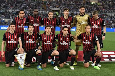Daftar Skuad Pemain AC Milan 2016-2017