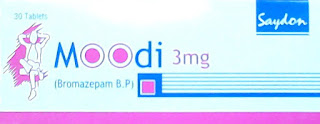 Moodi (bromazepam) 3mg tablet