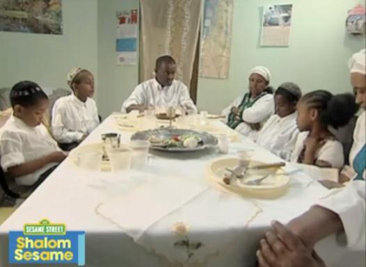Jewish Humor Central: Ethiopian Israeli Family Celebrates