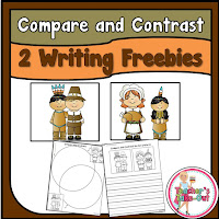 Free Compare and Contrast Thanksgiving Writing