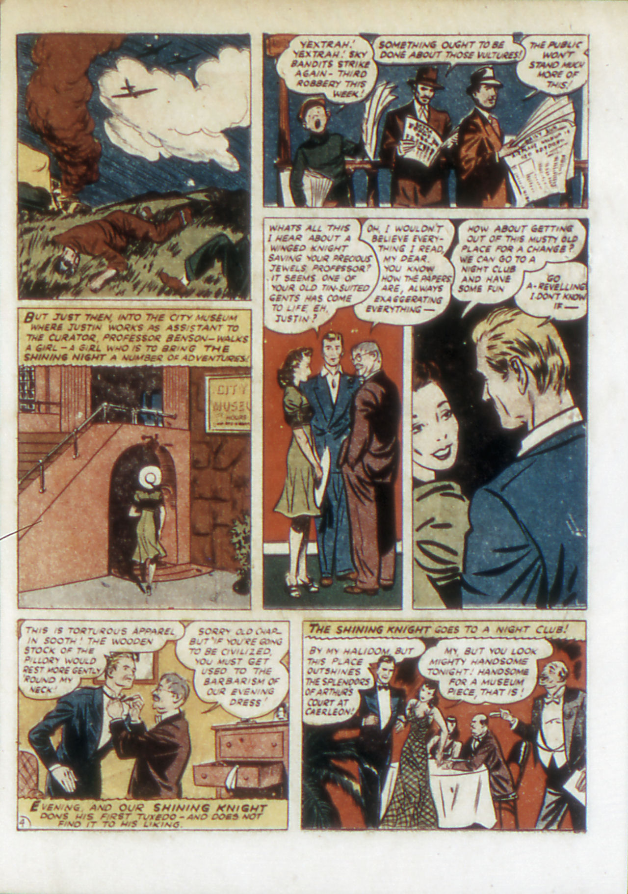 Read online Adventure Comics (1938) comic -  Issue #67 - 20