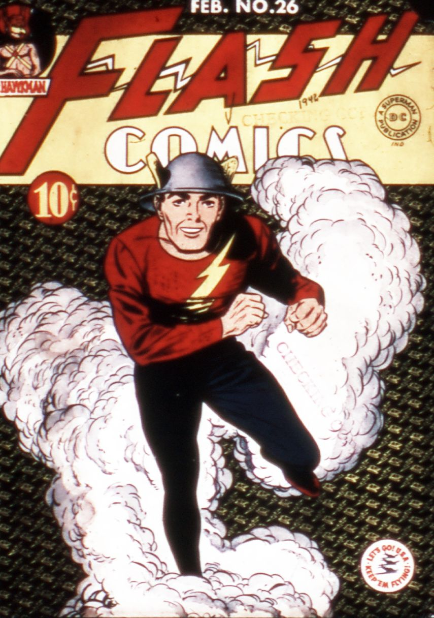 Flash Comics 26 Page 1