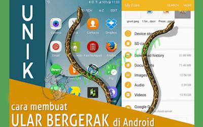 Tikusliar.com - Download Aplikasi Ular Bergerak Di Layar Andorid -