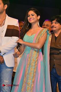 Actress Naina Ganguly Stills in Long Dress at Vangaveeti Audio Launch  0034.JPG