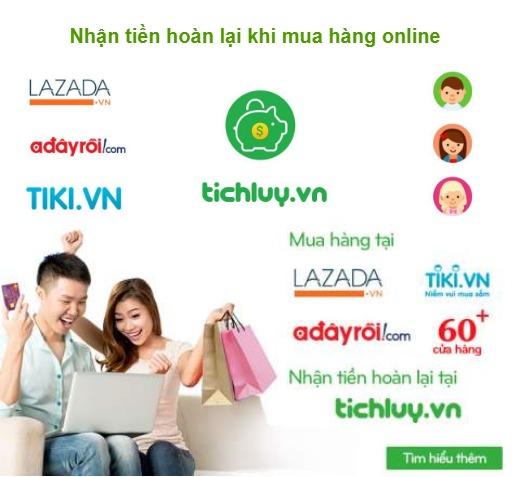 TichLuy.vn, mã giảm giá, khuyến mãi và hoàn tiền khi mua sắm