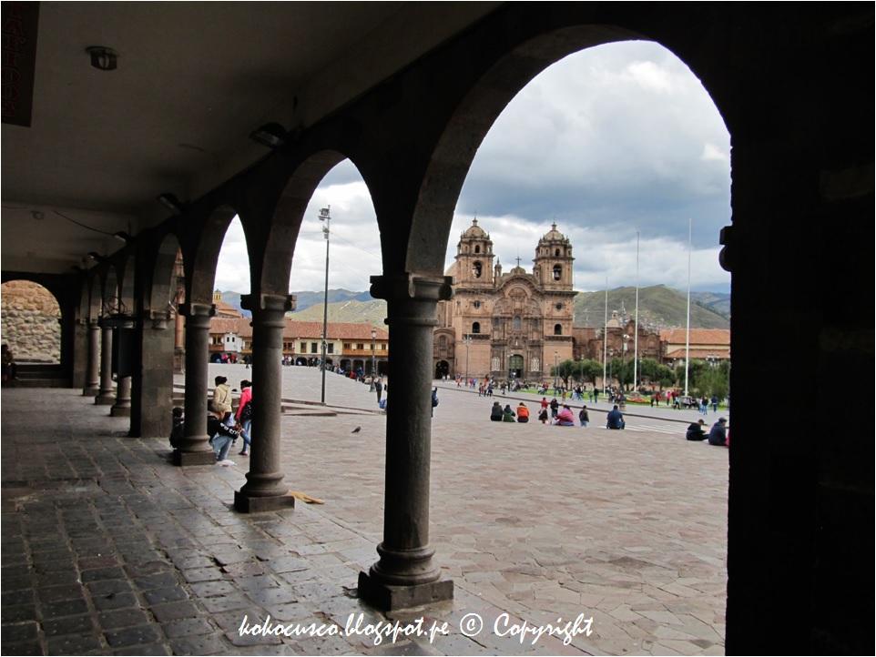 De Los Nombres De Los Portales De La Plaza De Armas Del Cusco