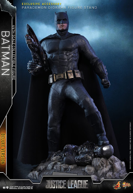 "osw.zone Hot Toys Justice League 1/6 Scale Ben Affleck Batman (Deluxe Version) 12 ""Collectible"