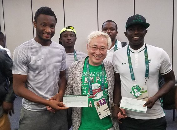 Japanese millionaire fulfills his promise, gives $390k to U-23 Dream Team (photos)
