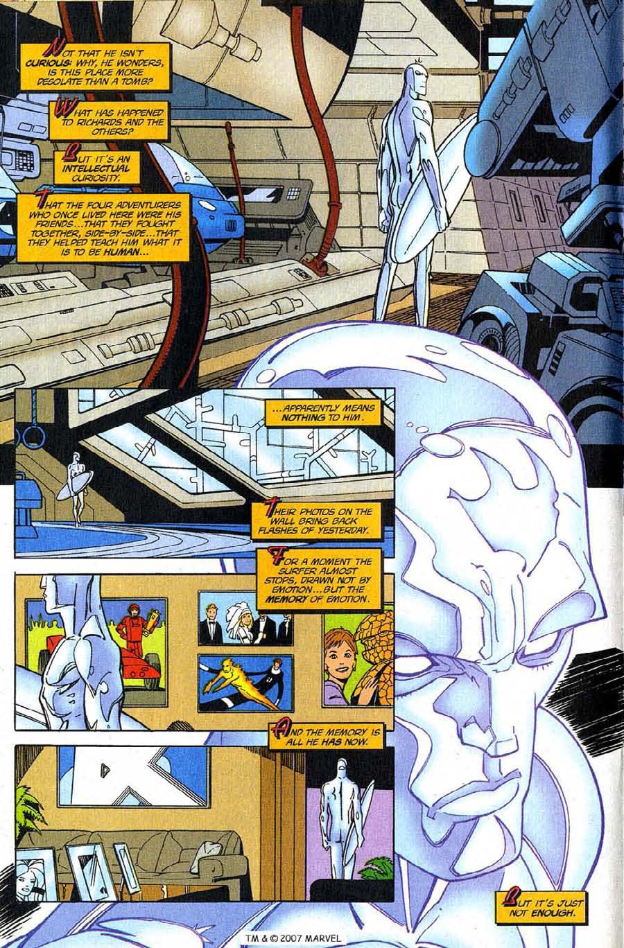 Silver Surfer (1987) Issue #123 #131 - English 16