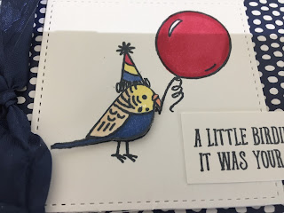 Stampin' Up! Blends with Bird Banter