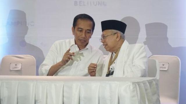 3 Eks Penyiar TV Bantu Persiapan Debat Jokowi-Ma'ruf