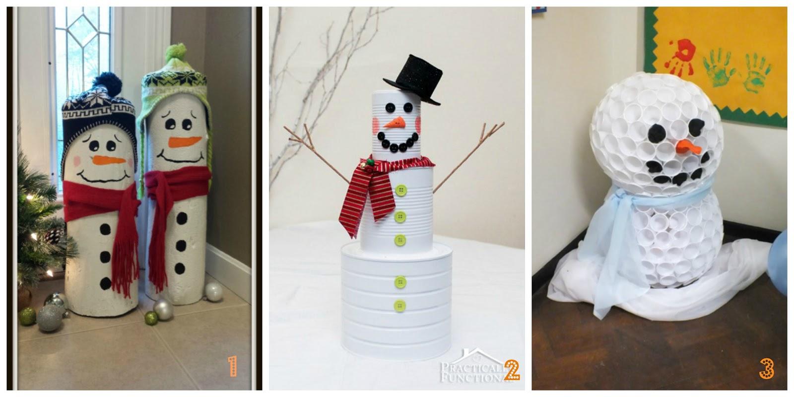 Fai Da Te Decorazioni Casa pupazzo di natale fai da te per decorare la casa a natale