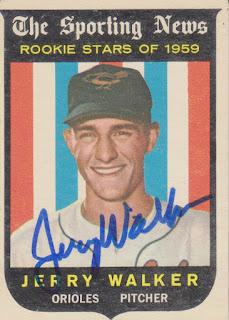 1959 Topps, Jerry Walker