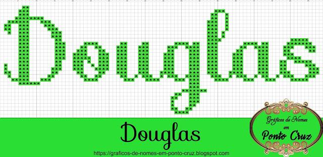 Nome Douglas em Ponto Cruz