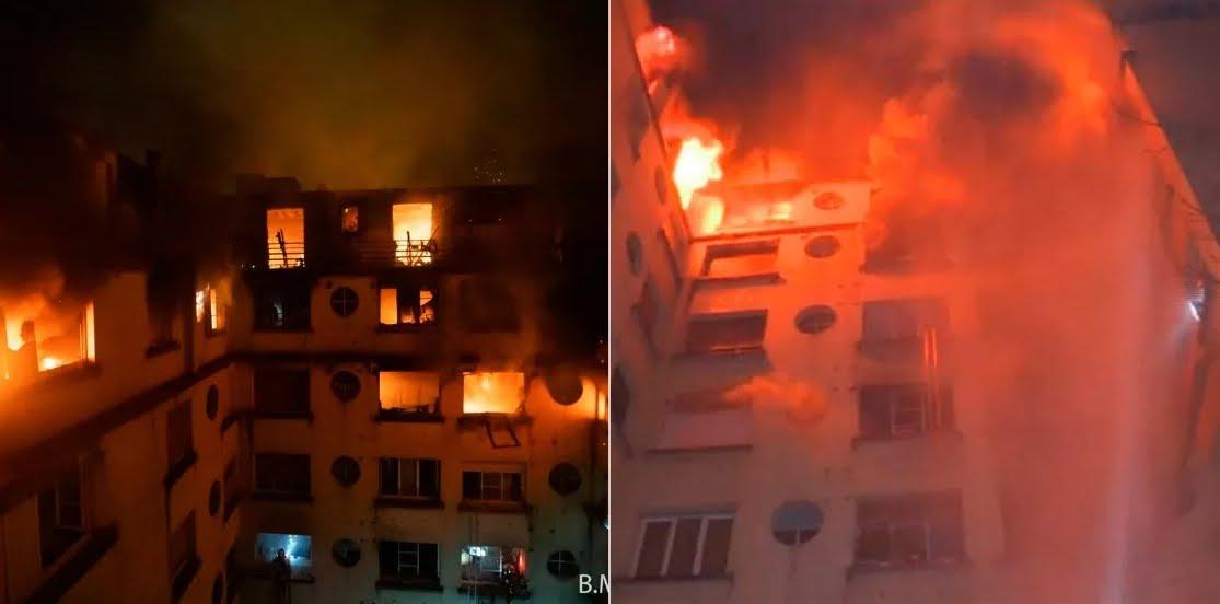Incendio a Parigi vicino al tennis club Roland Garros, al Trocadero, al Parco dei Principi.