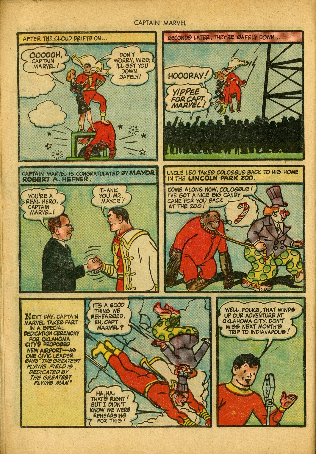 Captain Marvel Adventures issue 34 - Page 14
