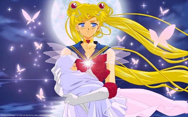 Sailor Moon sauve Hotaru Tomoe