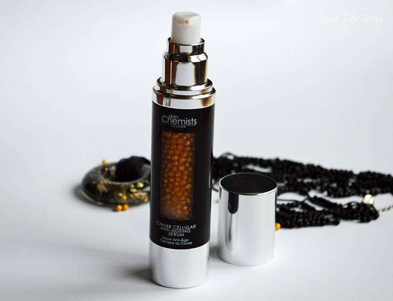 SkinChemists Caviar Cellular Anti-Aging Serum - Przeciwzmarszczkowe serum z perłami młodości