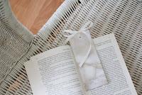 diy marble bookmark francinesplaceblog francinesplacediy