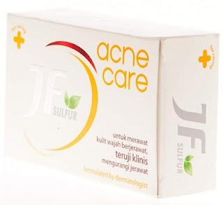 Manfaat Dan Aturan Pakai Sabun Jf Sulfur Acne Care