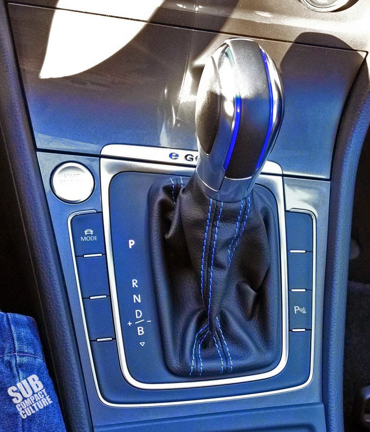 VW e-Golf shifter