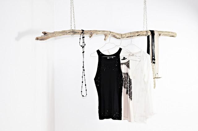 Hauszeit: Garderobe aus Treibholz