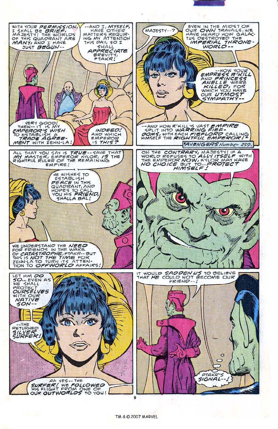 Read online Silver Surfer (1987) comic -  Issue #2 - 15