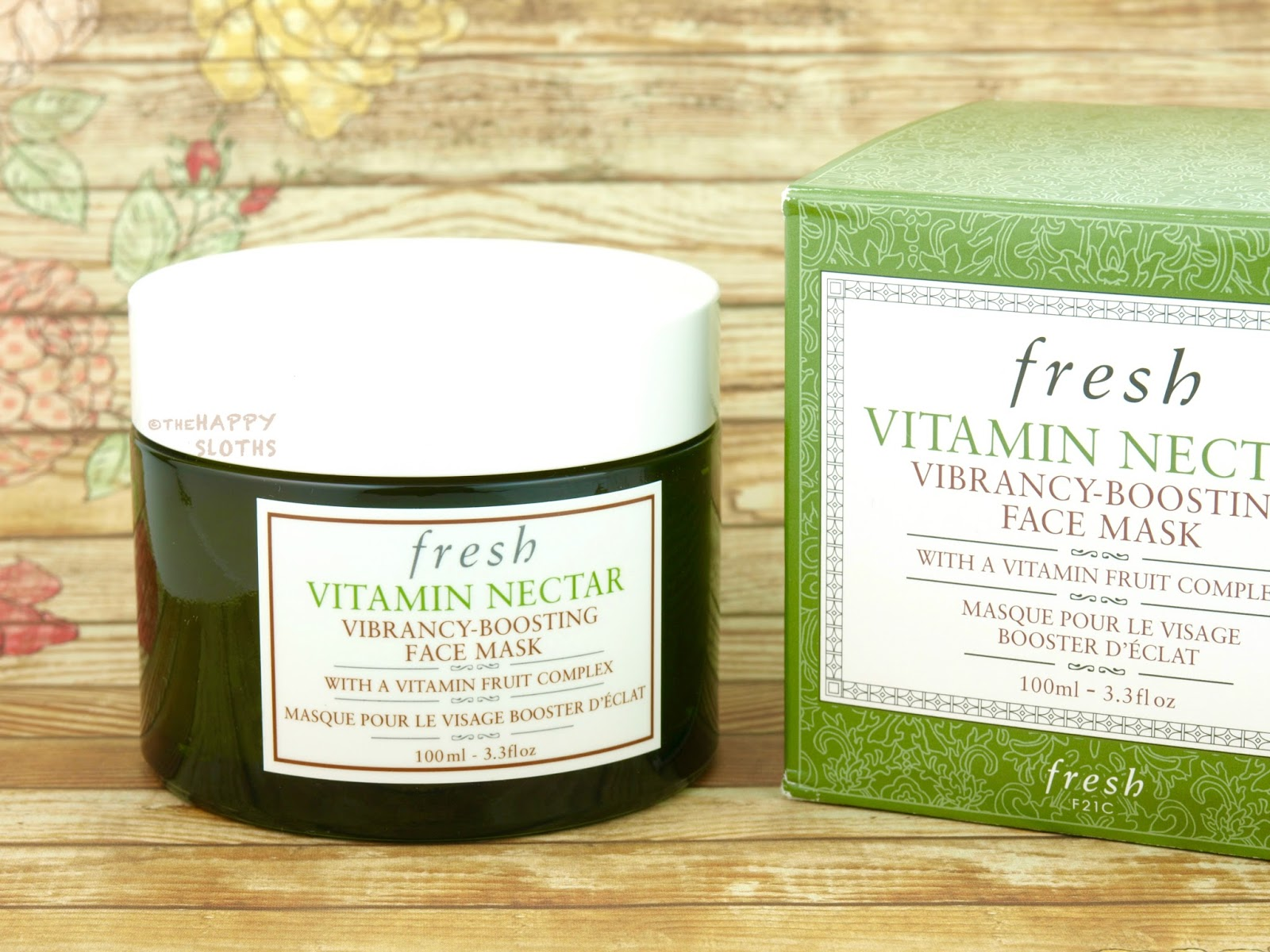 Fresh Vitamin Nectar Vibrancy-Boosting Face Mask: Review