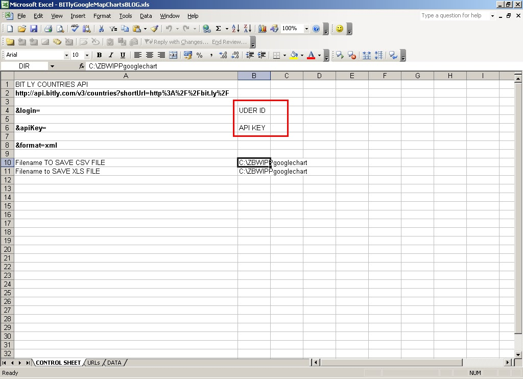 A Basis Life: Mapping bit ly links using Excel macros and