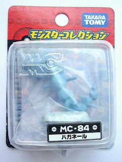 Steelix Pokemon figure Tomy Monster Collection MC series