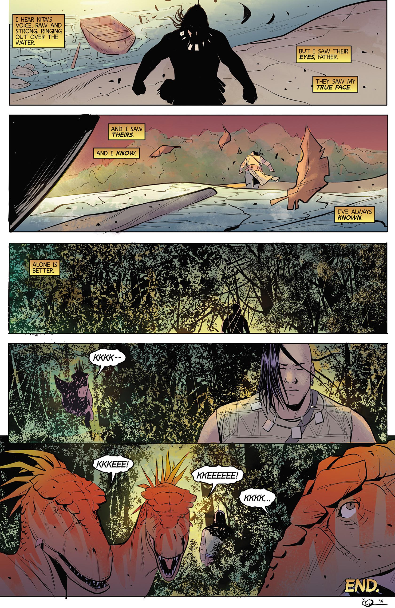 Read online Turok: Dinosaur Hunter (2014) comic -  Issue #4 - 24